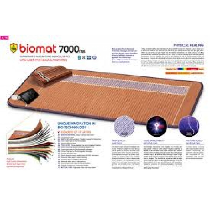 Richway Infrared Therapy Amethyst Bio-mat 7000MX Professional (Size 28″x 74″)